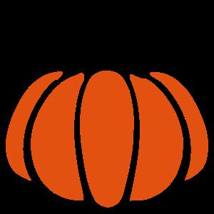 Kürbis Orange Pumpkin Clip Art  Motiv Halloween