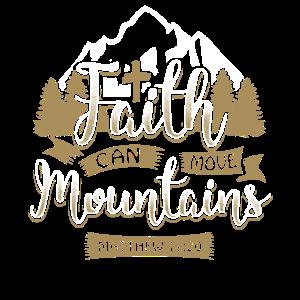 Faith can move mountains - EN