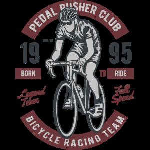 BICYCLE RACING TEAM - Vintage Rennrad Shirt Motiv