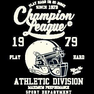CHAMPION LEAGUE - American Football Shirt Motiv