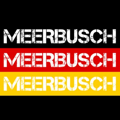 STADT MEERBUSCH, DEUTSCHLAND - MEERBUSCH ist deine Heimat? Dann ist dieses Design für dich! Heimat,Stadt,Deutschland,deutsch,städte,schwarz rot gold,Region,Orte,Ort,Stadtname,Metropole,großstadt,Heimatstadt,city,Deutschlandflagge,B - Deutschlandflagge,städte,Region,deutsch,Stadt,BRD,Stadtname,Deutschland,Orte,Bundesrepublik,Ort,Deutschlandfahne,MEERBUSCH,Heimatstadt,Metropole,Heimat,schwarz rot gold,city,großstadt