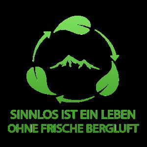 Wanderer Kletterer Bergluft Geschenk T Shirt