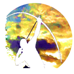Archer shooting stars by Patjila