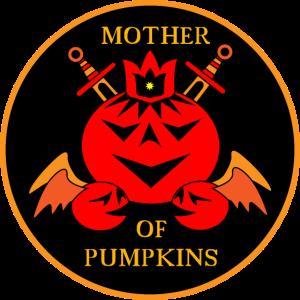 MOTHER OF PUMPINKINS Mutter der Kürbisse Halloween