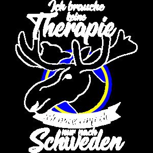 Keine Therapie Schweden - schwedische Elche