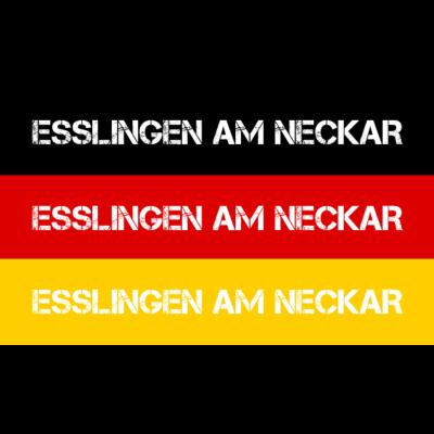 STADT ESSLINGEN AM NECKAR, DEUTSCHLAND - ESSLINGEN AM NECKAR ist deine Heimat? Dann ist dieses Design für dich! Heimat,Stadt,Deutschland,deutsch,städte,schwarz rot gold,Region,Orte,Ort,Stadtname,Metropole,großstadt,Heimatstadt,city,Deutschla - Deutschlandflagge,städte,Region,deutsch,Stadt,BRD,Stadtname,ESSLINGEN AM NECKAR,Deutschland,Orte,Bundesrepublik,Ort,Deutschlandfahne,Heimatstadt,Metropole,Heimat,schwarz rot gold,city,großstadt