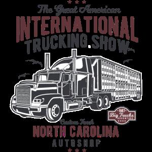 INTERNATIONAL TRUCKING - Vintage Truck Shirt Motiv