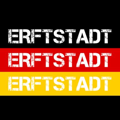 STADT ERFTSTADT, DEUTSCHLAND - ERFTSTADT ist deine Heimat? Dann ist dieses Design für dich! Heimat,Stadt,Deutschland,deutsch,städte,schwarz rot gold,Region,Orte,Ort,Stadtname,Metropole,großstadt,Heimatstadt,city,Deutschlandflagge,B - Deutschlandflagge,städte,Region,deutsch,Stadt,BRD,Stadtname,Deutschland,Orte,Bundesrepublik,Ort,Deutschlandfahne,Heimatstadt,Metropole,Heimat,schwarz rot gold,city,ERFTSTADT,großstadt