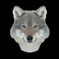 Polygon Wolf RGB
