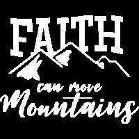 Faith can move Mountains christlich christen