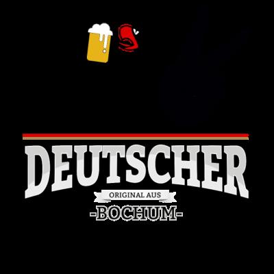 Aus Bochum Deutschland - Aus Bochum Deutschland - fun,aus,fussball,Stadt,Deutscher,rot,wm,BRD,Adler,bestseller,Deutschland,gold,Deutsch,orginal,fussballtrikot,Trikot,Bier,cool,schwarz,Bundesadler,Schland,Weltmeisterschaft,Fußball,Bochum