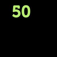 50 ist nicht alt. Deprimierend, aber nicht alt!