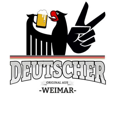 Aus Weimar Deutschland - Aus Weimar Deutschland - fun,aus,fussball,Stadt,Deutscher,rot,wm,Weimar,BRD,Adler,bestseller,Deutschland,gold,Deutsch,orginal,fussballtrikot,Trikot,Bier,cool,schwarz,Bundesadler,Schland,Weltmeisterschaft,Fußball
