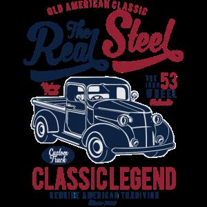 OLDTIMER PICKUP - Vintage Retro Truck Shirt Motiv