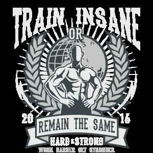 REMAIN THE SAME - Sport und Fitness Shirt Motiv