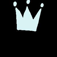 King Krone Geschenk Held Geburtstag