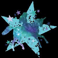 Einhorn Stern Galaxie