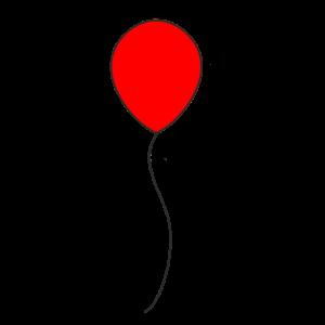 Horror Film Roter Ballon - Geschenk