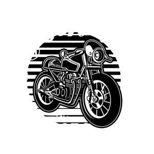 FULL OF SPEED BIKE - Vintage Motorrad Shirt Motiv