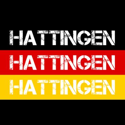 STADT HATTINGEN, DEUTSCHLAND - HATTINGEN ist deine Heimat? Dann ist dieses Design für dich! Heimat,Stadt,Deutschland,deutsch,städte,schwarz rot gold,Region,Orte,Ort,Stadtname,Metropole,großstadt,Heimatstadt,city,Deutschlandflagge,B - Deutschlandflagge,städte,Region,deutsch,Stadt,BRD,Stadtname,Deutschland,Orte,Bundesrepublik,Ort,Deutschlandfahne,Heimatstadt,Metropole,Heimat,schwarz rot gold,HATTINGEN,city,großstadt