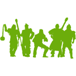 Jugger Team gruen