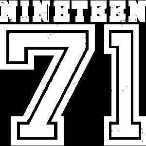 NINETEEN 1971