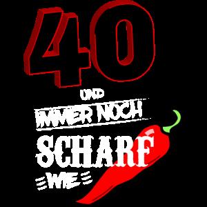Tshirt 40 Geburtstag Männer Geschenk 40 Jahre