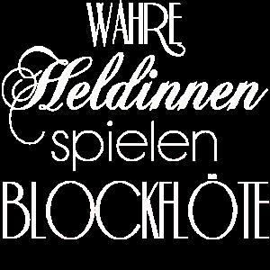 BLOCKFLÖTE HELDINNEN SPIELEN BLOCKFLÖTE MÄDCHEN