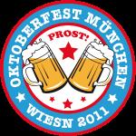 Oktoberfest Muenchen Wiesn Prost 2011 Bayern Butt