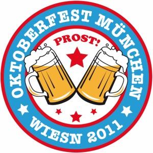 Oktoberfest Muenchen Wiesn Prost 2011 Bayern
