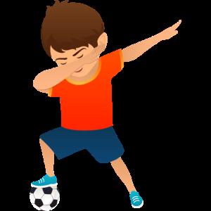 Soccer Boy Dab Dance