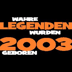 Wahre Legenden 2003