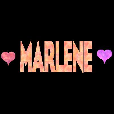 Marlene - Sehr schönes Design für Marlene. - Marlene herzen,Marlene herz,Marlene liebe,Marlene Geschenk,Marlene