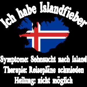 Ich habe Islandfieber - Island - Geschenk - Reise