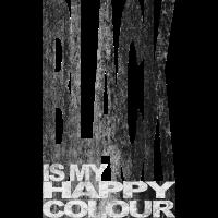 Black is my happy colour colour schwarz Gothic