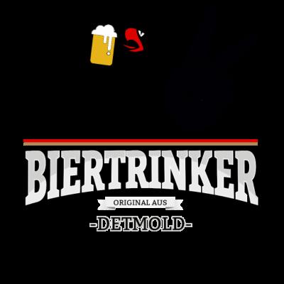 Bier aus Detmold Deutschland - Original Biertrinker aus Detmold in Deutschland. - wm,schwarz,rot,orginal,gold,fussballtrikot,fussball,fussball,fun,cool,cool,bestseller,Weltmeisterschaft,Trikot,Stadt,Schland,Party,Fußball,Deutschland,Deutscher,Deutsch,Detmold,Biertrinker,Bier,BRD