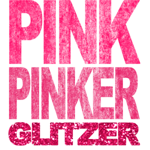 Pink Pinker Glitzer Bling Prinzessin Fashionista