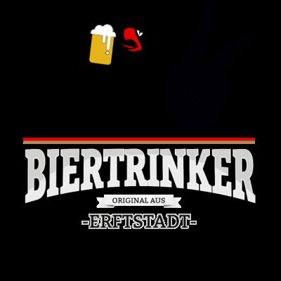 Bier aus Erftstadt Deutschland - Original Biertrinker aus Erftstadt in Deutschland. - wm,schwarz,rot,orginal,gold,fussballtrikot,fussball,fussball,fun,cool,cool,bestseller,Weltmeisterschaft,Trikot,Stadt,Schland,Party,Fußball,Erftstadt,Deutschland,Deutscher,Deutsch,Biertrinker,Bier,BRD