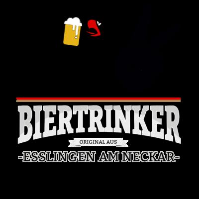 Bier aus Esslingen am Neckar Deutschland - Original Biertrinker aus Esslingen am Neckar in Deutschland. - wm,schwarz,rot,orginal,gold,fussballtrikot,fussball,fussball,fun,cool,cool,bestseller,Weltmeisterschaft,Trikot,Stadt,Schland,Party,Fußball,Esslingen am Neckar,Deutschland,Deutscher,Deutsch,Biertrinker,Bier,BRD