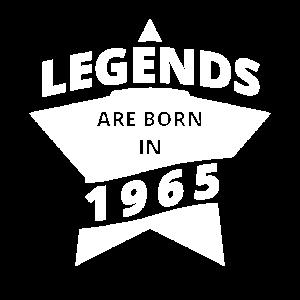 Legenden Shirt - Legends are born in 1965