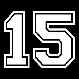 15 - AMERICAN FOOTBALL - Trikot Shirt Motiv
