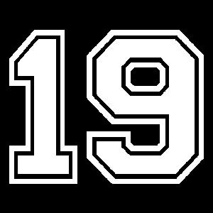 19 - AMERICAN FOOTBALL - Trikot Shirt Motiv