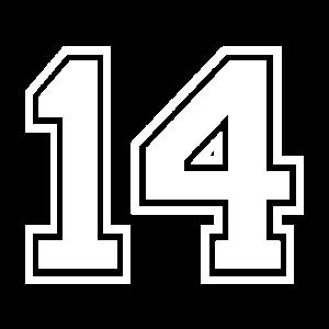 14 - AMERICAN FOOTBALL - Trikot Shirt Motiv