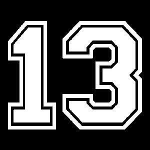 13 - AMERICAN FOOTBALL - Trikot Shirt Motiv