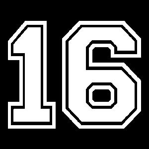 16 - AMERICAN FOOTBALL - Trikot Shirt Motiv