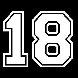 18 - AMERICAN FOOTBALL - Trikot Shirt Motiv