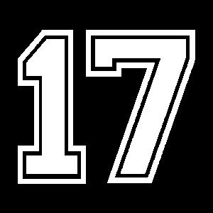 17 - AMERICAN FOOTBALL - Trikot Shirt Motiv