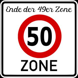 50.Geburtstag - 50er Zone