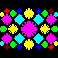 Blüten bunt