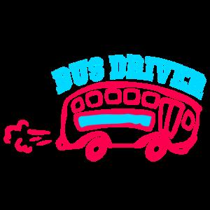 Lustiges Busfahrer-Hemd
